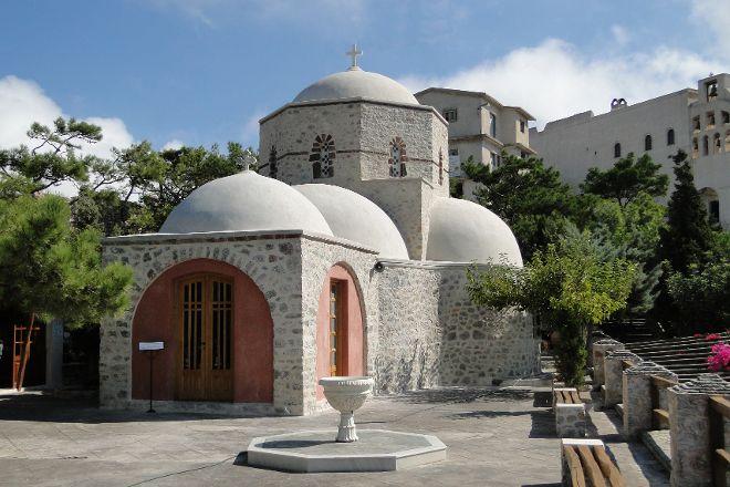 Monastery of Profitis Ilias, Moni Profitou Iliou, Greece