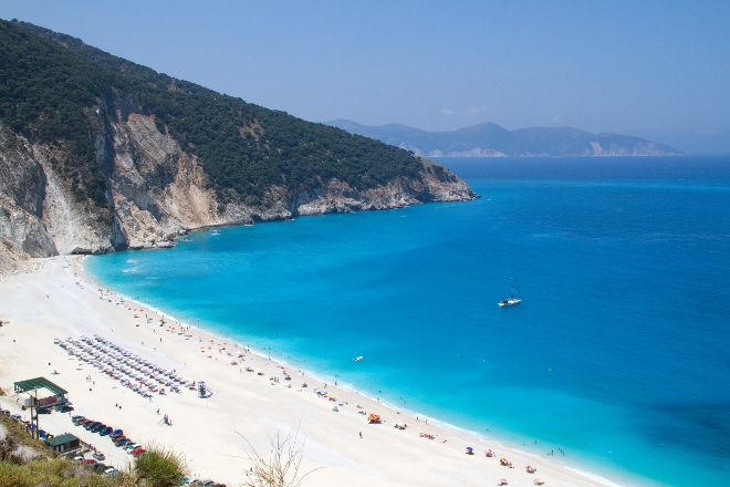 Myrtos Beach, Cephalonia, Greece