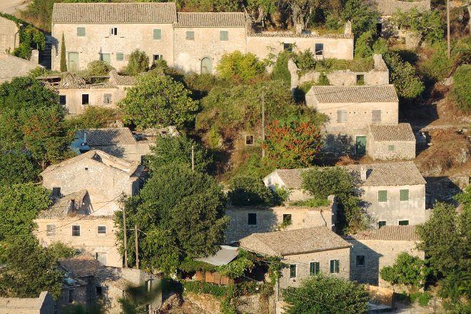 Old Perithia, 'Corfu's Oldest Village.', Corfu, Greece