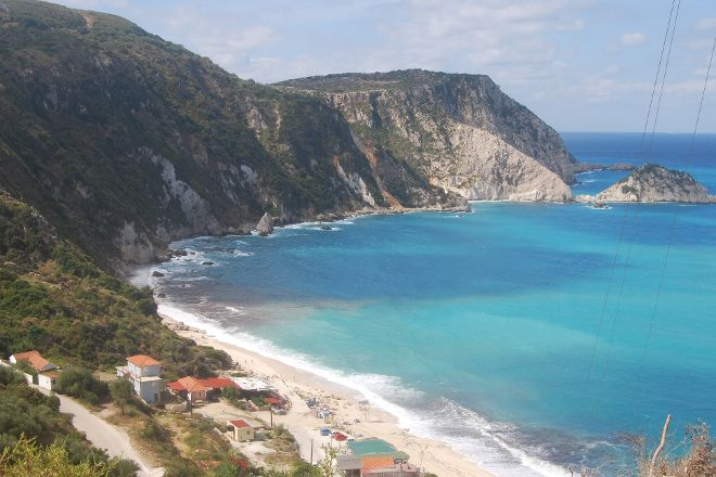 Petani Beach, Lixouri, Greece