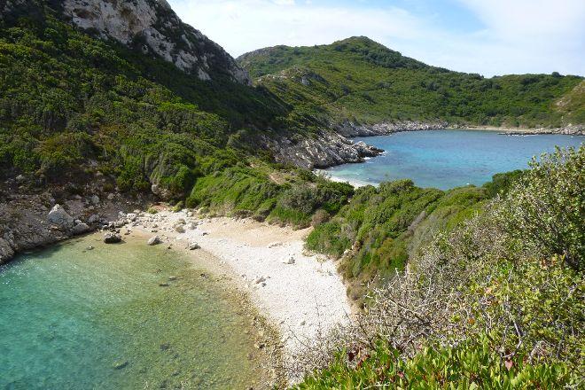Porto Timoni Beach, Corfu, Greece
