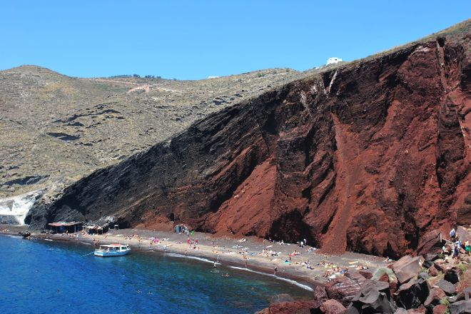 Red Beach, Akrotiri, Greece