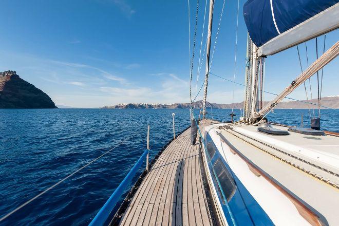 Santorini Exclusive Sailing Odysseas Sailing Yacht, Fira, Greece