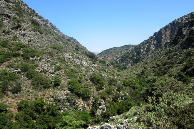 Sirikari Gorge - Polyrrinia Trail, Kissamos, Greece