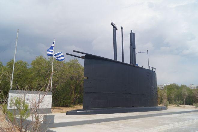 Submarine Monument, Paleo Faliro, Greece