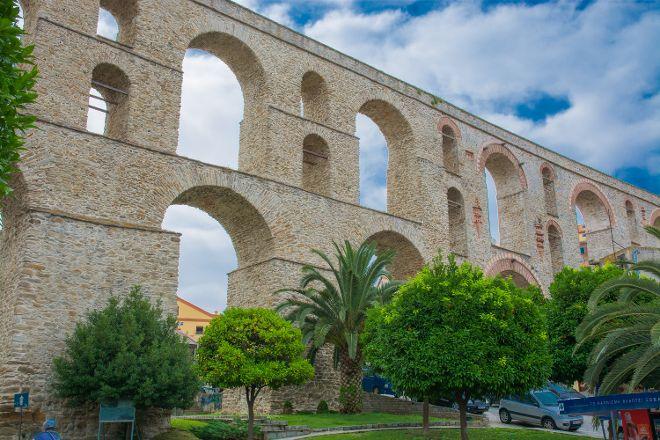 The Aquaduct, Kavala, Greece