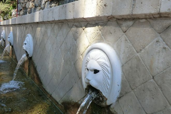The Lion Fountains, Spili, Greece