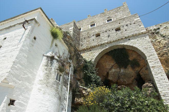 Tower of Zevgolis, Apeiranthos, Greece