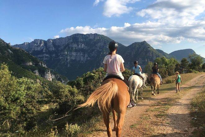 White Pegasus Horse Ride and Treks Day Tours, Papigko, Greece