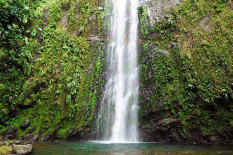 La Trace des Chutes de Moreau, Goyave, Guadeloupe