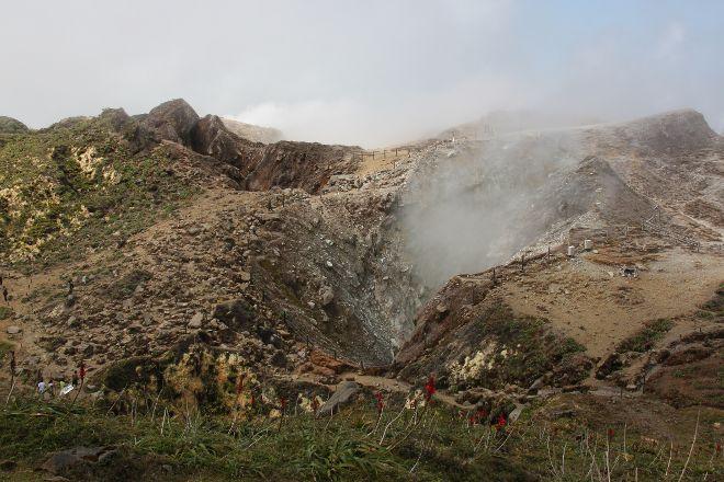 La Soufriere Volcano, Saint-Claude, Guadeloupe