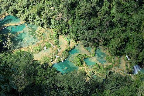 Monumento Natural Semuc Champey, Lanquin, Guatemala