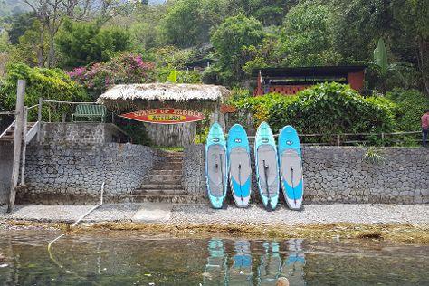 Stand Up Paddle Atitlan, Santa Cruz La Laguna, Guatemala