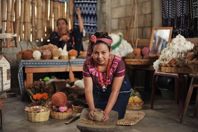 Asociacion de Mujeres en Colores Botanico, San Juan la Laguna, Guatemala