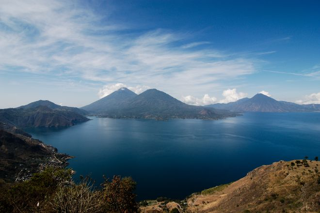 Lago de Atitlan, Lake Atitlan, Guatemala