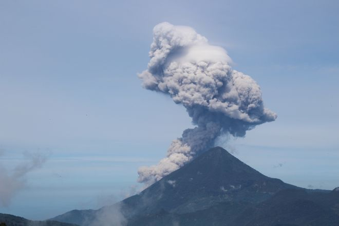 Santiaguito Volcano, Quetzaltenango, Guatemala