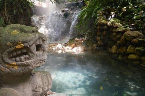 Luna Jaguar Hot Spring, Copan Ruinas, Honduras