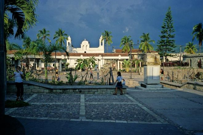 Main Square, Copan Ruinas, Honduras