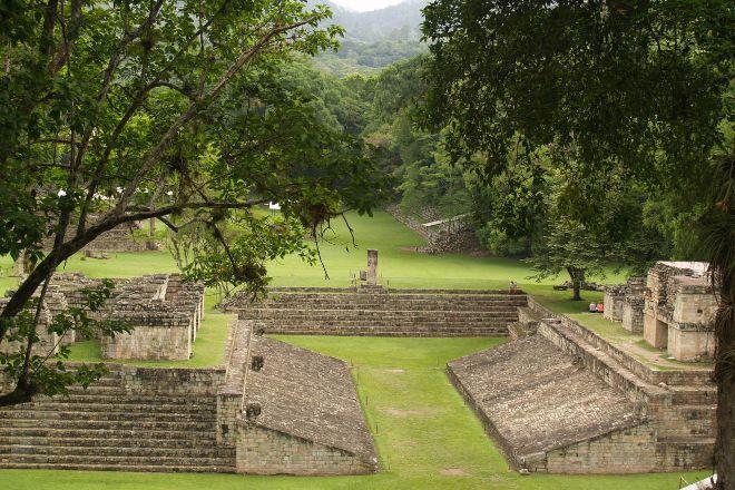 Mayan Ball Court, Copan Ruinas, Honduras