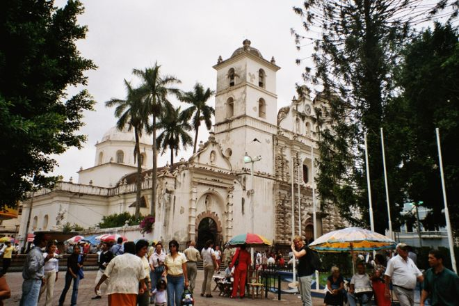 Parque Central, Tegucigalpa, Honduras