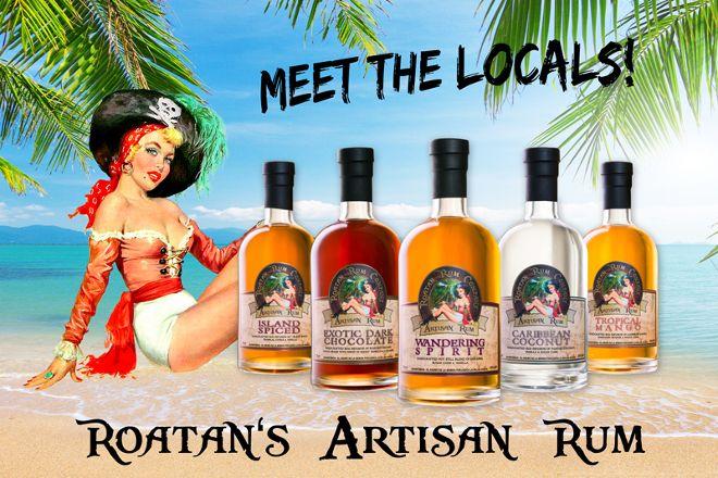 Roatan Rum Company, Roatan, Honduras