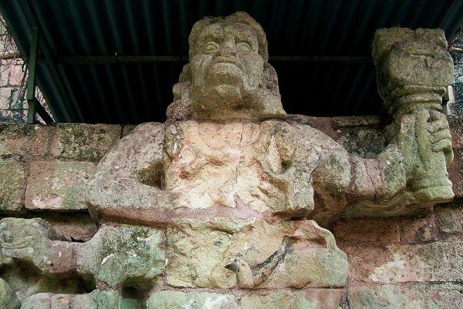 Sculpture Museum, Copan Ruinas, Honduras