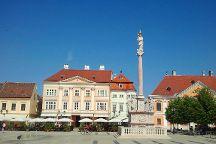 Gyor Old Town Area, Gyor, Hungary