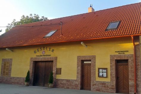 Geszler Family Winery, Mor, Hungary