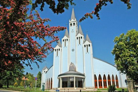 Holy Spirit Catholic Church, Heviz, Hungary