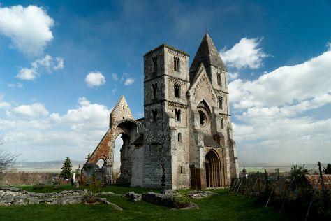 Zsambek Premontre monastery church ruin, Zsambek, Hungary