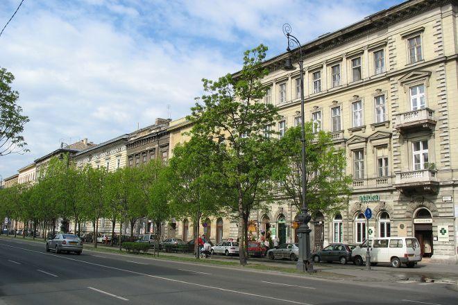Andrassy Avenue, Budapest, Hungary