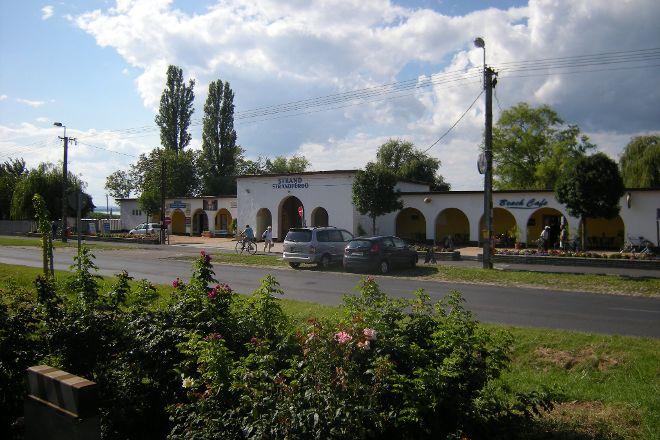 Balatonbereny kozsegi strand, Balatonbereny, Hungary