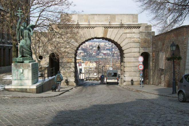 Becsi Kapu Square, Budapest, Hungary