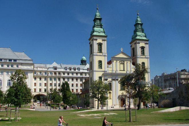 Belvarosi Nagyboldogasszony Foplebaniatemplom, Budapest, Hungary