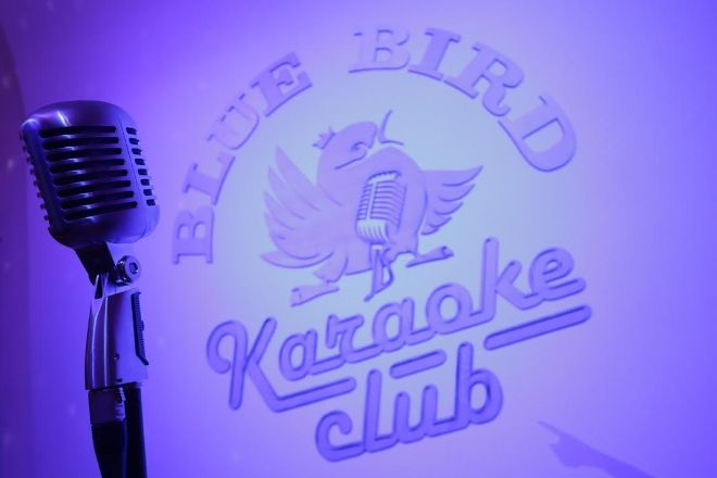 Blue Bird Karaoke Club, Budapest, Hungary