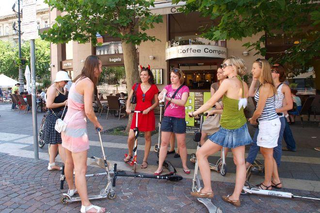 Budapest Kick Scooter Tour, Budapest, Hungary