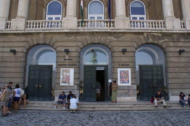 Hungarian National Gallery (Magyar Nemzeti Galeria), Budapest, Hungary
