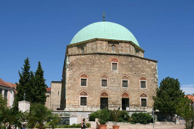 Mosque of Pasha Gazi Kassim Church of Gyertyaszentelo Boldogasszony, Pecs, Hungary