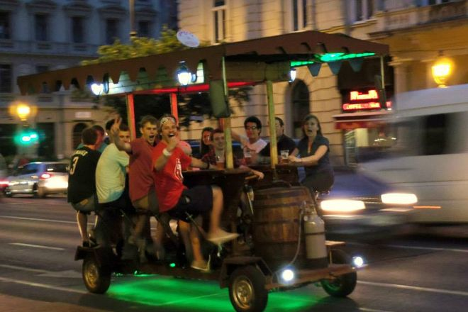 Pedal Bar- Day Tours, Budapest, Hungary