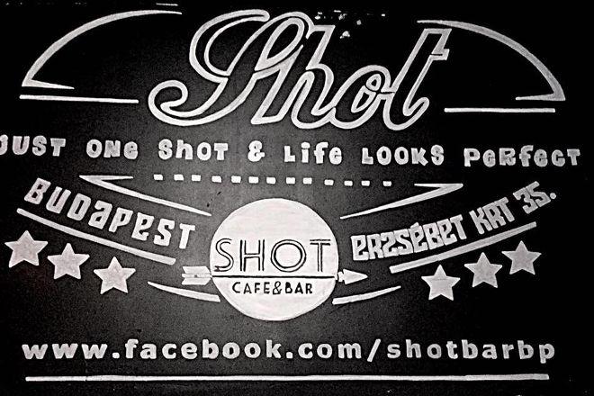 SHOT Cafe & Bar, Budapest, Hungary