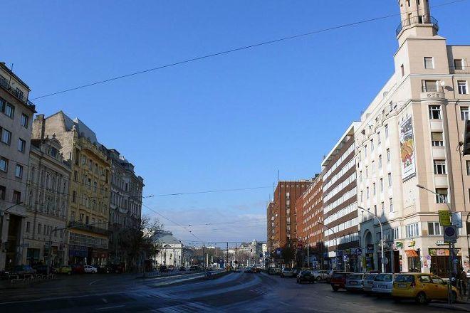 Small Boulevard, Budapest, Hungary