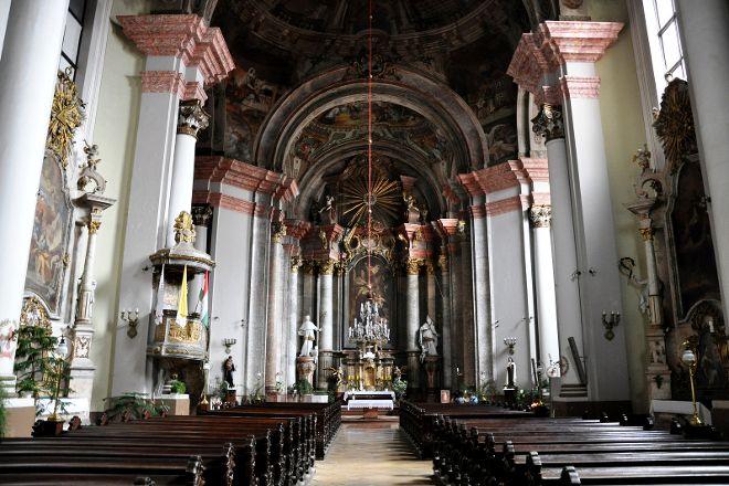 Minorita Nagyboldogasszony templom, Miskolc, Hungary