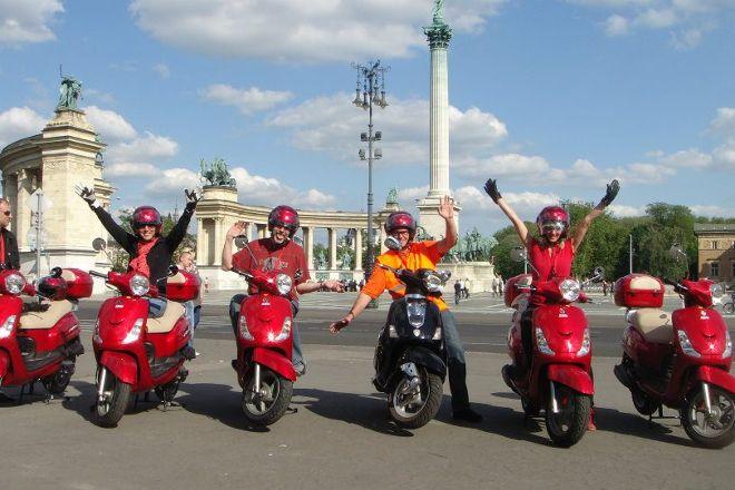 The Original Budapest Scooter Tour, Budapest, Hungary