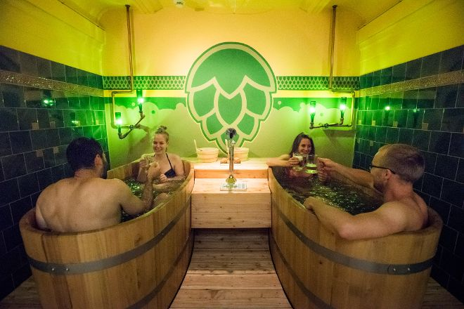Thermal Beer Spa, Budapest, Hungary