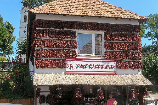 Tihanyi MARKET Place, Tihany, Hungary
