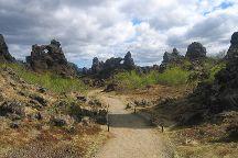 Dimmuborgir Lava Formations, Lake Myvatn, Iceland