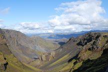 Fimmvorduhals Hiking Trail, Skogar, Iceland