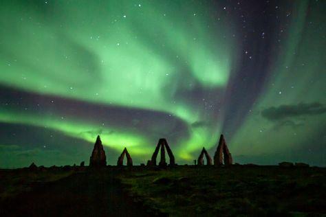 Arctic Henge, Raufarhofn, Iceland