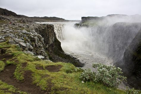 Dettifoss Waterfall, Lake Myvatn, Iceland