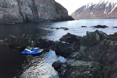 Fairytale At Sea, Olafsfjordur, Iceland